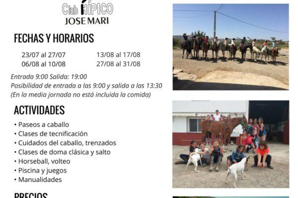 Ya están aquí los campamentos de verano de Club Hípico Jose Mari